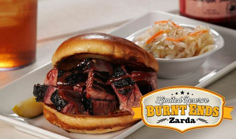 Zarda Bar-B-Q Limited Reserve Burnt Ends