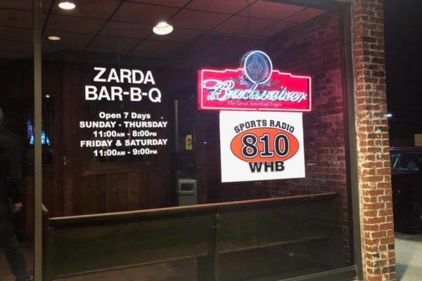 Sports Radio 810 at Zarda Bar-B-Q