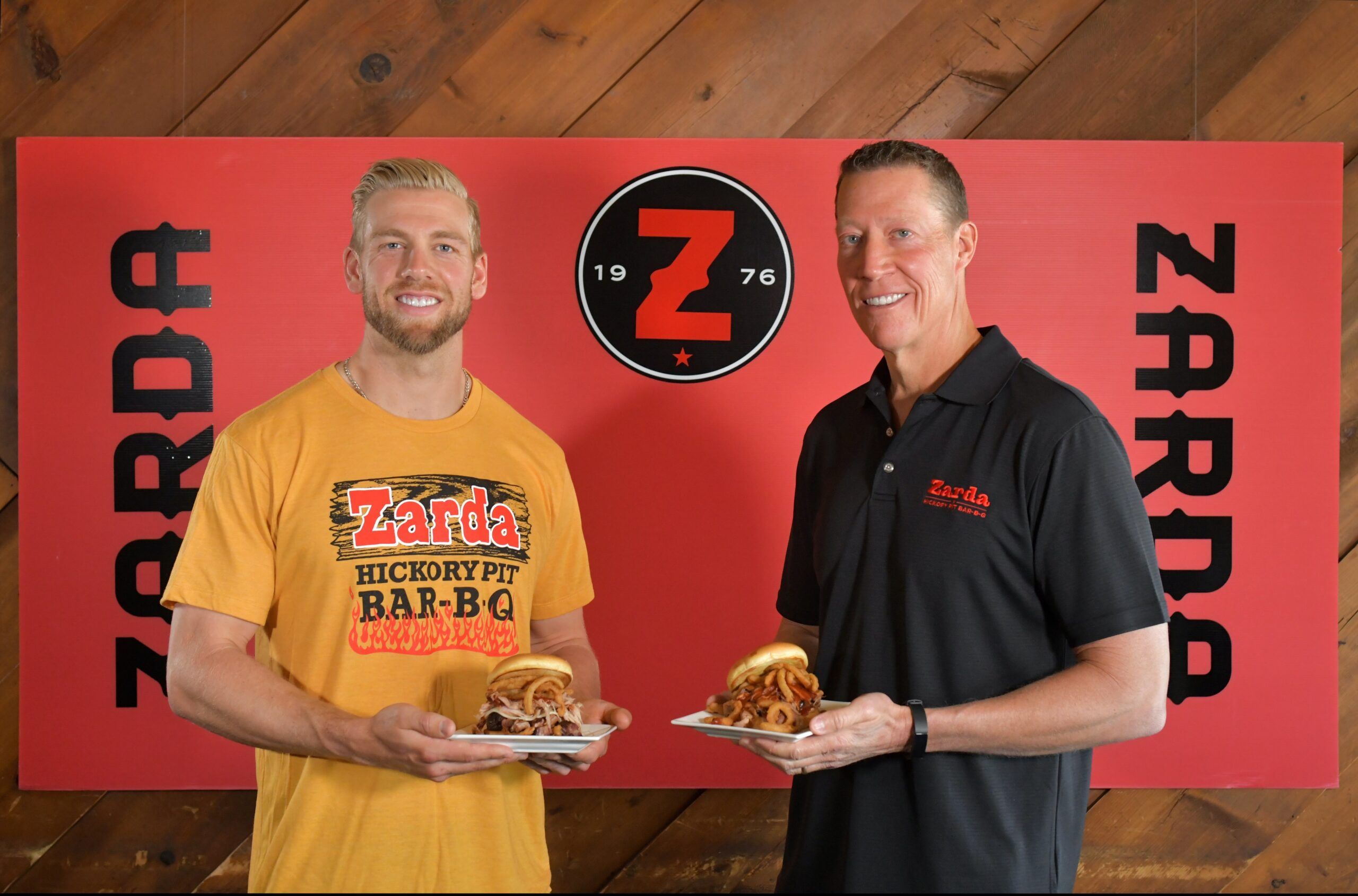 """Hunter Dozier Teams Up with Zarda to Create """"The Big Dozier"""""""