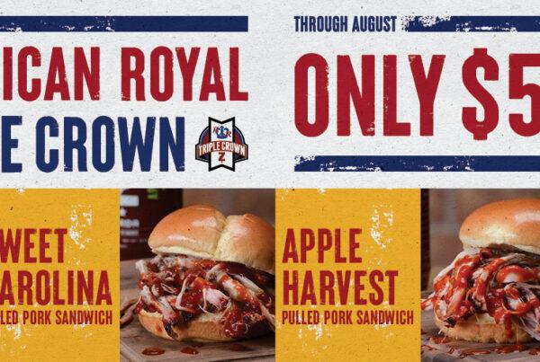 Triple Crown Pulled Pork