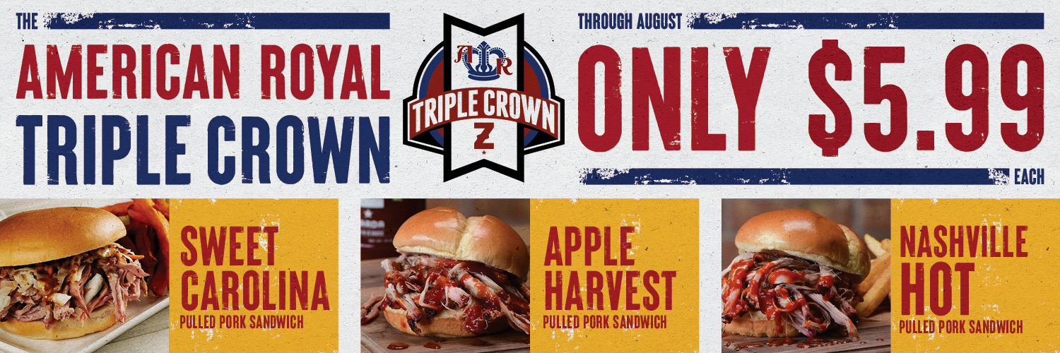 American Royal Triple Crown – All $5.99 – All August!
